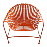 Laquered French Metal Chairs