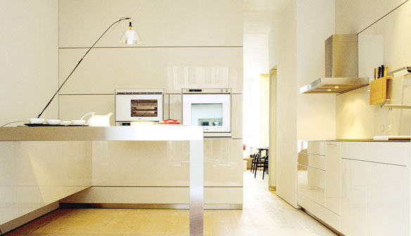 Behind the curtains the bulthaup b3 a modern kitchen miracle