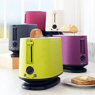 Colorful Modern Toaster