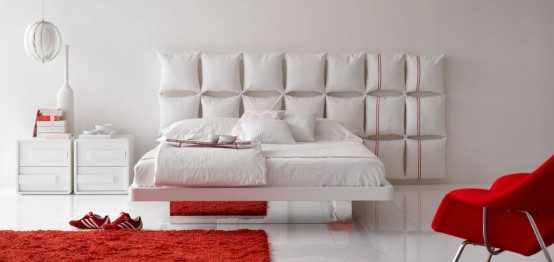 White-bed-with-unusual-and-creative-headboard-Pixel-By-Olivieri-1-554x262