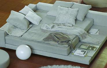 You and Me platform bed