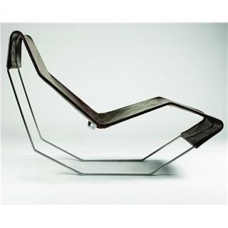 Modern-masculine-leather-chaise