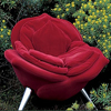 Red-rose-modern-chair