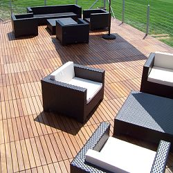 ... Completely Change The Look Of Your Worn Outdoor Patio Surfaces Or Just  Want A New Space To Kick Back In The Sun, Stylish Furniture Grade Wood Deck  Tiles ...