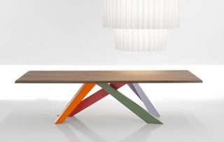 Colorful-wood-table