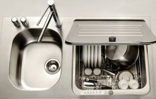 In-sink-dishwasher