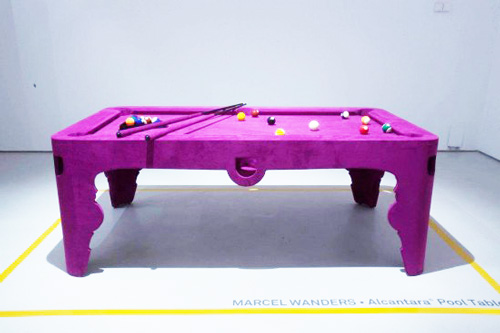 Pink-pool-table