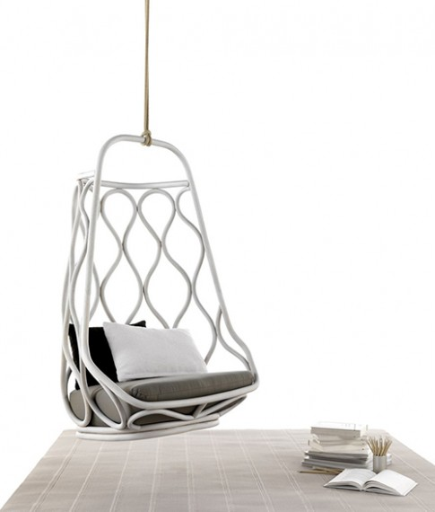 Designed By Exporium The Nautica Rattan Hanging Chair Evokes A Mid Century Feel That Isn T Always Easy To Create