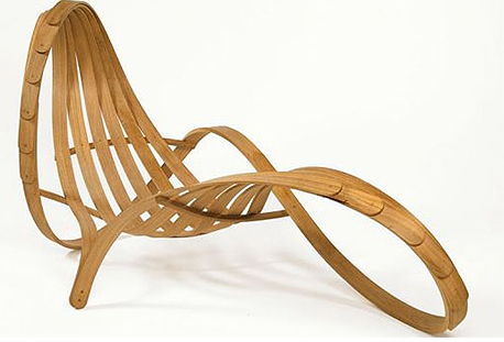 (Pictured: Cabinet From Iannone Design, Modern Bamboo Chaise)
