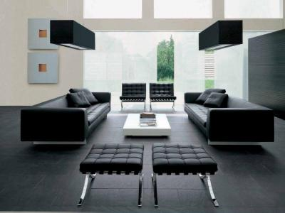 On Perezalivke Trendy Modern Living Room With Simple But