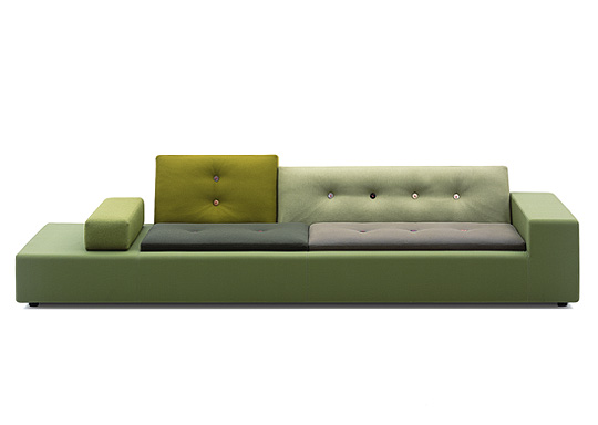 Vitrau0027s Long Low Sofa