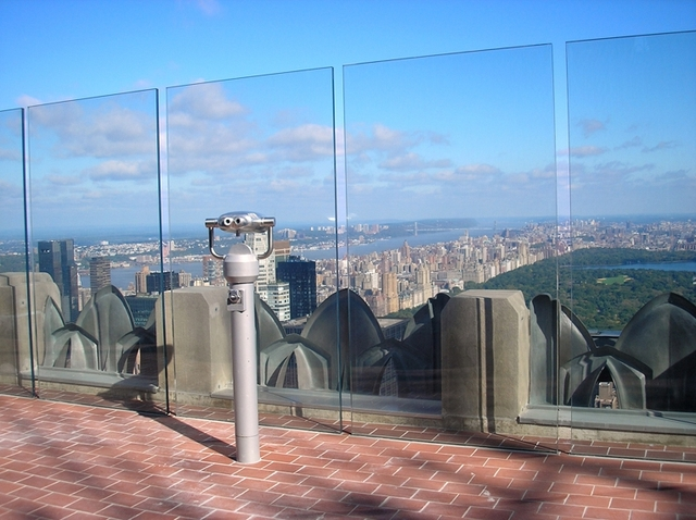 Behind the Curtains - Top of the Rock